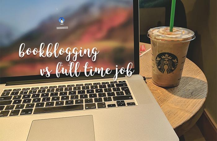 bookblogging vs full time job